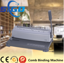 Semi Automatic Wire-combs binding