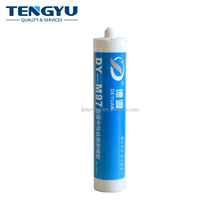 Hdpe empty plastic cartridge for silicone sealant waterproof
