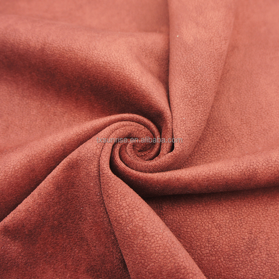 suede sofa fabric burn out high quality