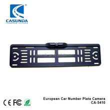 High quality car license plate car rear view camera for Europe number plate