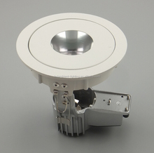 mr16 g5.3 led ceiling recessed spotlight die casting aluminium shell wall washer light