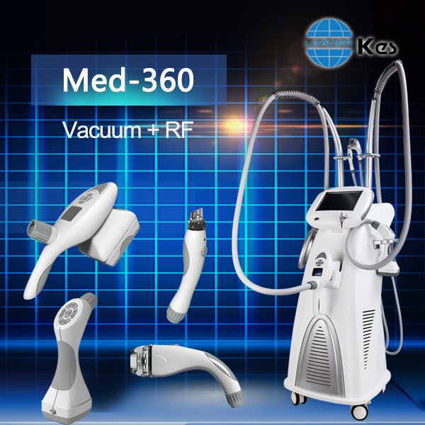 Vacuum Suction Automatic Roller 13.6Mhz Bipolar RF Infrared light slimming machine