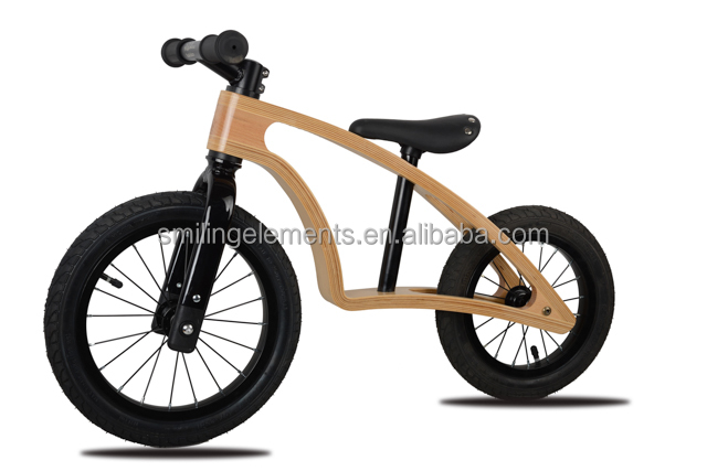 2017 high quality Wooden Balance Running Bikes as Baby Toy Bicycles,kid bicycle