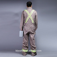 Hot Selling reflective overalls/ cheap protective uniforms