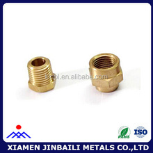 Customized precision brass CNC lathe machining parts