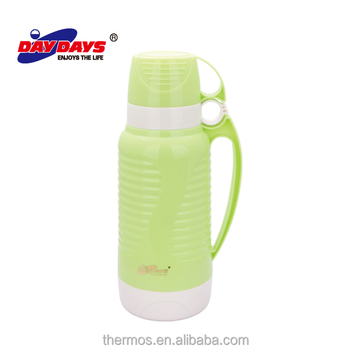 glass refill thermos vacuum flask china factory - Glass Thermos