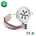 24VDC 27W DMX RGBWW RGBA led downlight with 3 years warranty