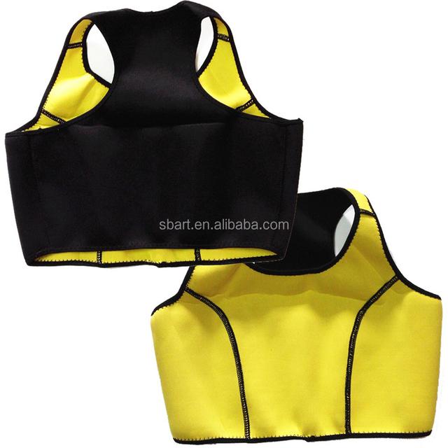 Hot Shapers Set (Bra + Pants ) Saunafit Hot Thermal Neoprene Slimming Workout Sports Bra Women Body Shapers TV