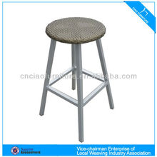 Outdoor furniture rattan round bar chair