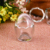 100ml PP/glass funny and new egg shape plastic jelly cup with lip egg cup