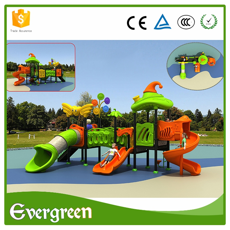 Multifunctional Nature series playground swings slides toys