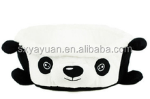 Warm Plush Pet Bed House Cute Small Dogs Removable Cushion Inside Soft Fabric Dog House