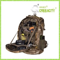 Camping Rifle Back Pack Camo Tactical Hiking Gear Bag Hunting Backpack