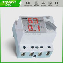 Earth Leakage Protection Busbar Connection Din Rail 40A 4P Residual Current Circuit Breaker TORF1-63