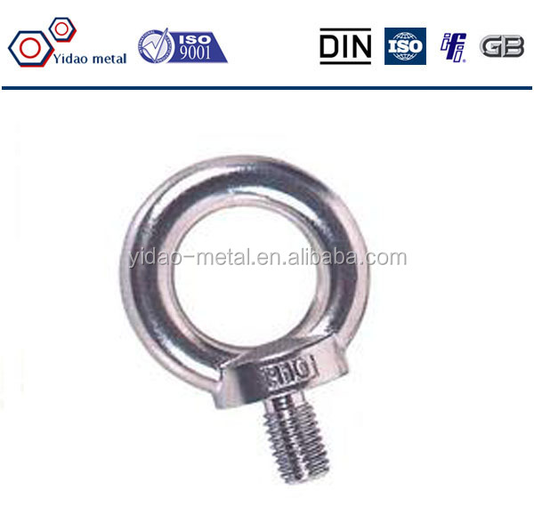 DIN 444 Galvanized Eye Bolts / Lifting Eye Bolt