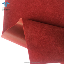 Flock PVC Jewellery Box Material also for Inflatable Products
