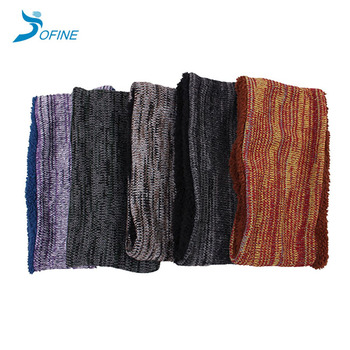 Winter coral fleece lining acrylic neck warmer to Japan market