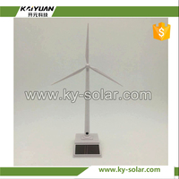 Good Sales 3D toy solar windmill for indoor decoration