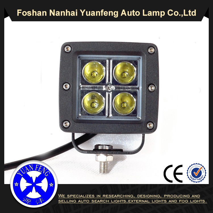 20W square cree led worklights,10~30V DC IP67 CREE 20w led work light for truck