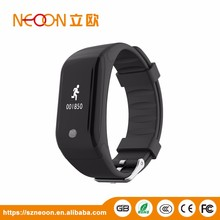 Alibaba hot selling best christmas gift thermometer pedometer fitness tracker smart bracelet
