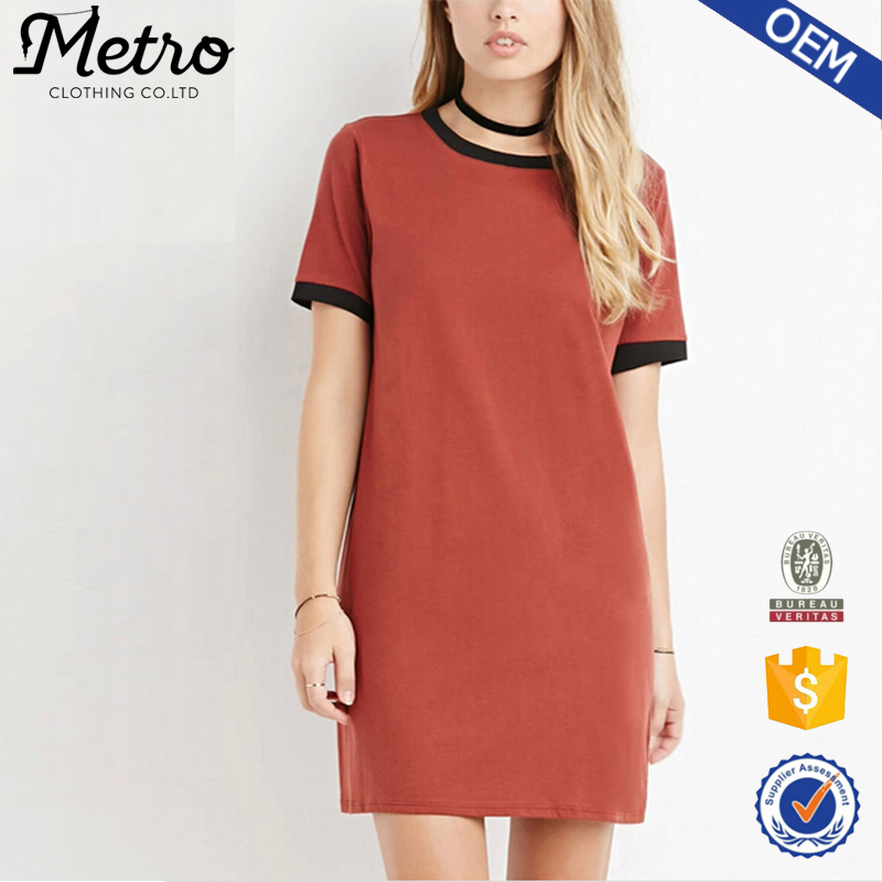 Young lady wholesale 100 cotton t shirt dress buy t for Buy 100 cotton t shirts in bulk