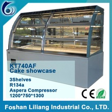 Commercial Used Anti-fogging Sharp appearance Cake Display Refrigerator