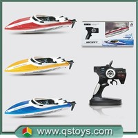 Crazy remote control toy!hot sell High Speed rc Boat!2.4G rc Boat