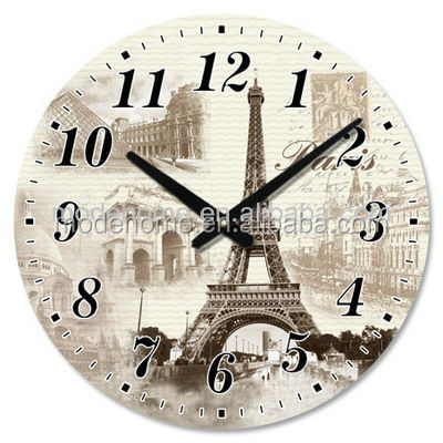 Factory Direct Wooden Wall Decorative Clock