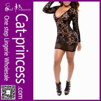 hot bare breast designer one piece party dress
