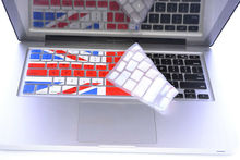 UK flag Waterproof and Dustproof laptop keyboard silicon skin cover silicone keyboard cover