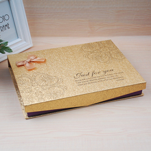Superior quality best selling magnetic flap gold luxury gold gift chocolate box