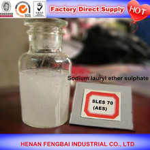 Hot sale daily chemical and detergents top quality sles 70% professional manufacturer