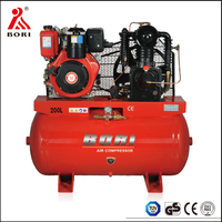 20 year factory wholesale diesel engine driven air compressor