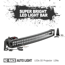 4WD Car Accesories High Power Auto Parts Led Driving Light Bar Offroad 21.5Inch 120W 2 Row Led Light Bar