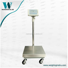 400kg precision floor movable weighing scale