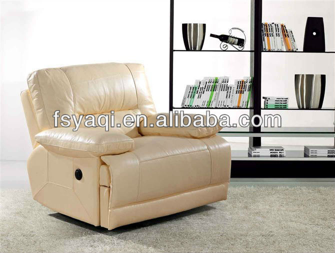 Modern design home theater furniture sofa with reclination 622-1