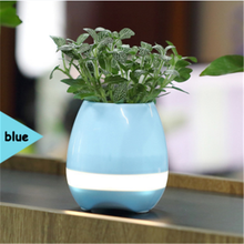 Outdoor Magic Smart Music Flower Pot with Bluetooth Speaker + Playing Piano Sund