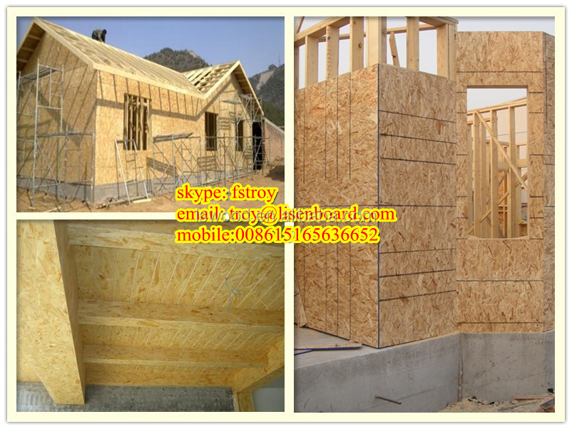 China Competitive Price OSB(oriented strand board) 4*8feet