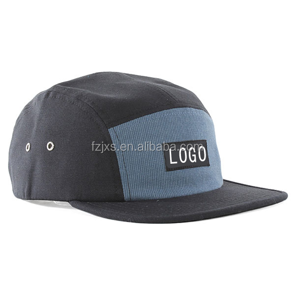 Paypal Accept High Quality Leather Strap 5 Panel Hats