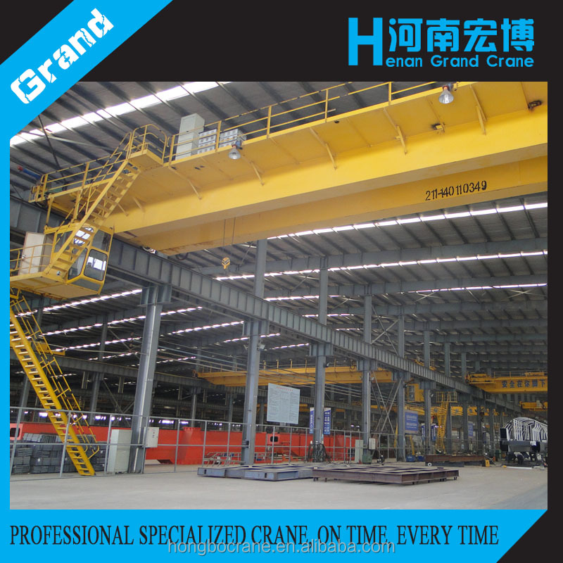 Manufacture Classic Design QD Electric Overhead Bridge Traveling Crane