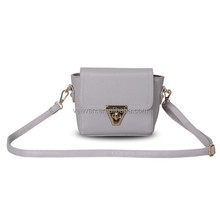 Made in china fashion leather hand bag for lady, new hand bag women 2014