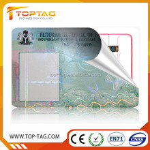 sample employee id card maker rewritable rfid card student id card with barcode