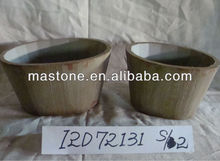 New Garden Idea for 2013 Herb garden pots with handle,set of 2,charming design,