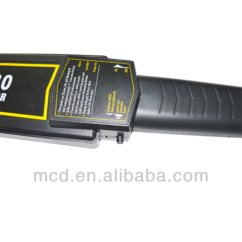 High Sensitivity MCD-5180 for Hand-Held Metal Detector Wear Headphone Output Function