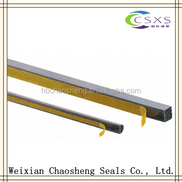 self adhesive door window rubber seal strips/rubber strip door seal/epdm rubber foam seal strip