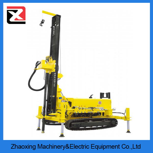 cheap 300m crawler portable rotary trailer mounted water well drilling rig