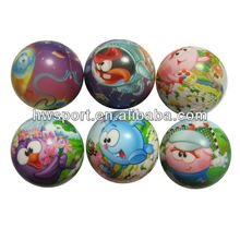 PU Full imprinting squeezing reliever stress balls