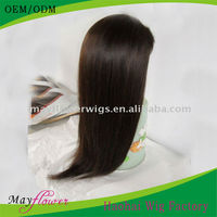100% virgin malaysian human hair silk top glueless full stretch cap lace wigs silky straight