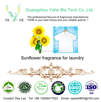 China Sunflower fragrance oil Supplier liquid flavor for laundry and detergent with factory price