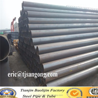 ERW MS Welded Steel Pipe within 20ft